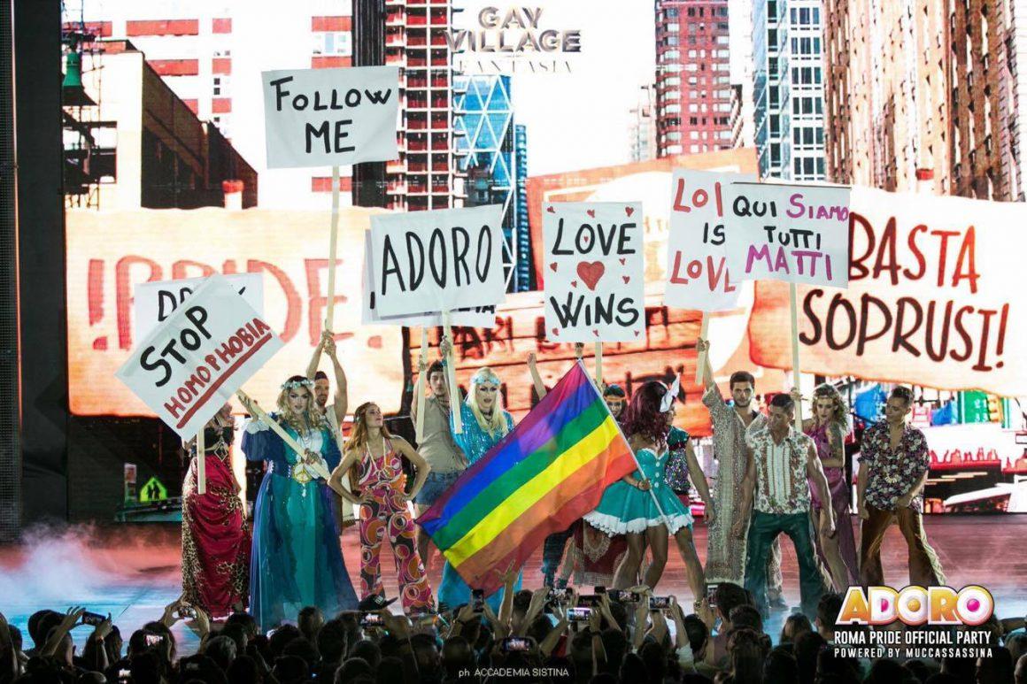 Adoro - Roma Pride 2017 Official Party