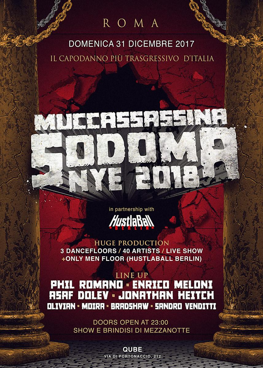 Sodoma NYE 2018
